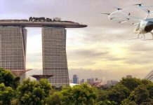 Volocopter Commits to Launch Air Taxi Services in Singapore