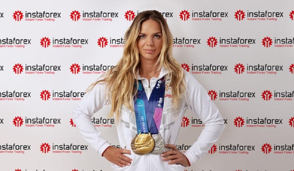 Six-Time World Swimming Champion Yuliya Efimova Teams Up With InstaForex